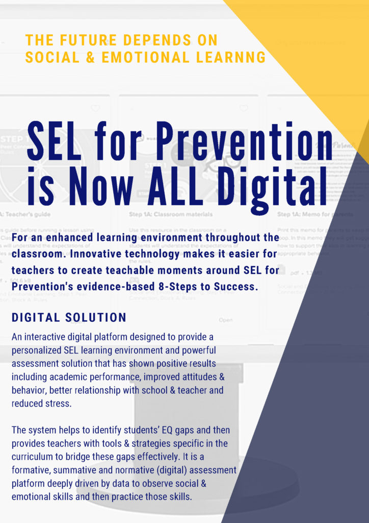 When Adding Sel To Curriculum >> Sel Digital Platform Sel For Prevention